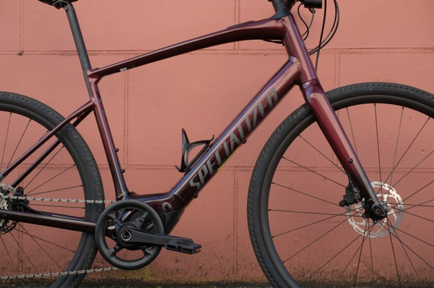 Specialized Turbo Vado SL 4.0 red/black fade