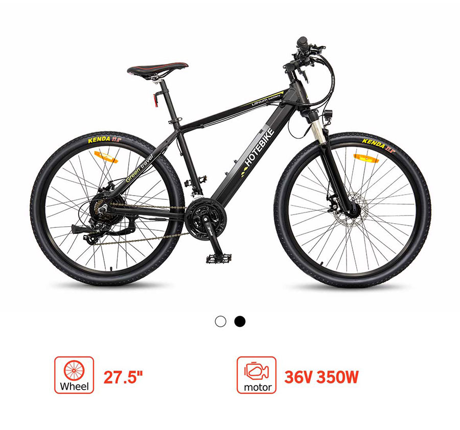 hotebike electric mountain bike